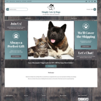 SimplyCatsAndDogs.com - Work From Home Business