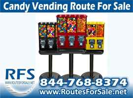 Bulk Candy Vending Machine Route, Oklahoma