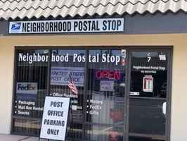 Neighborhood Postal Stop