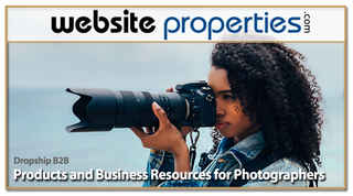 Dropship B2B Products & Resources for Photographer