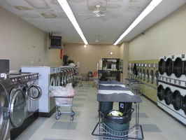 Coin Laundromat with 30 Washers and 23 Dryers