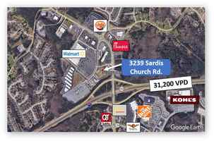 Buford Real Estate Parcel for Sale or Lease–3.8 AC