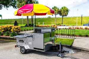 Manufacturer of Hot Dog Carts & Food Truck Builder