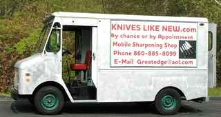 Mobile Knife and Tool Sharpening