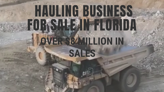 Trucking Hauling Business for Sale