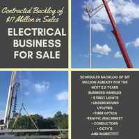 Roadway Electrical Business W/ Contracted Projects