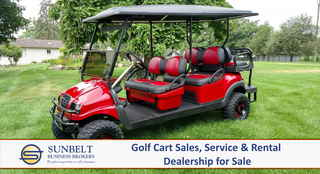 Golf Cart Sales, Service & Rental Business in W...