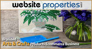Branded Arts & Crafts Products Ecommerce Business