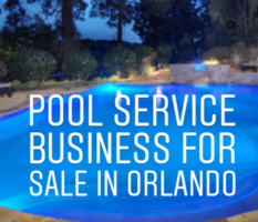 Residential Pool Service Business for sale Orlando