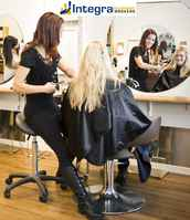 Hair Salon with Full Chairs