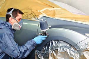 Mobile Automobile Paint Repair Business