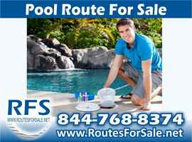 Pool Cleaning Route Business, Houston, TX