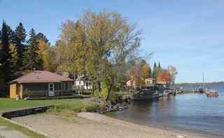 Turnkey Resort on Lake Kabetogoma For Sale in MN