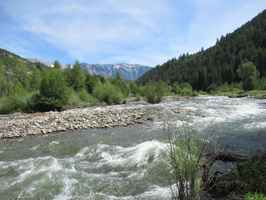 Turnkey Riverfront Resort For Sale in Somerset, CO