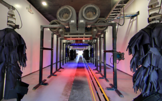 High Volume Express Exterior Tunnel Car Wash
