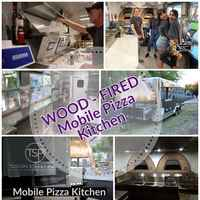 Complete Turnkey Wood Fired Mobile Pizza Kitchen