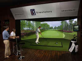 Indoor Golf Facility - Simulators & Entertainment