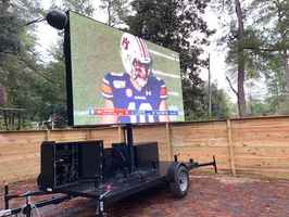 Mobile Jumbotron - Drive-In Movie Fun!