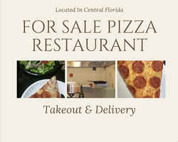 Casual Pizza Restaurant For Sale in Florida