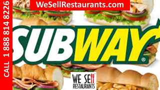Subway Franchise for Sale Nearly $50,000 Earnings