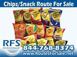 Salted Snacks Route For Sale, Eastern Pennsylvania