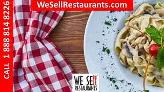 Italian Restaurant for Sale with nearly $130,000