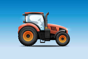 Tractor, Trailer & Lawn Equipment Dealer w/RE