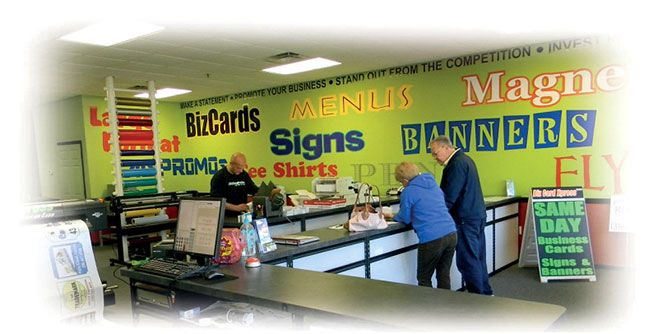 Bizcard xpress franchise information for T shirt printing franchise