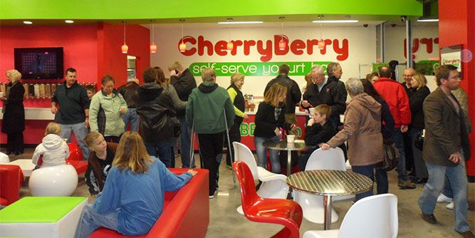 CherryBerry Yogurt Bar