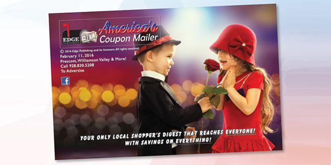 Coupon mailer advertising