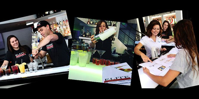 Elite Bartending School & Event Staffing