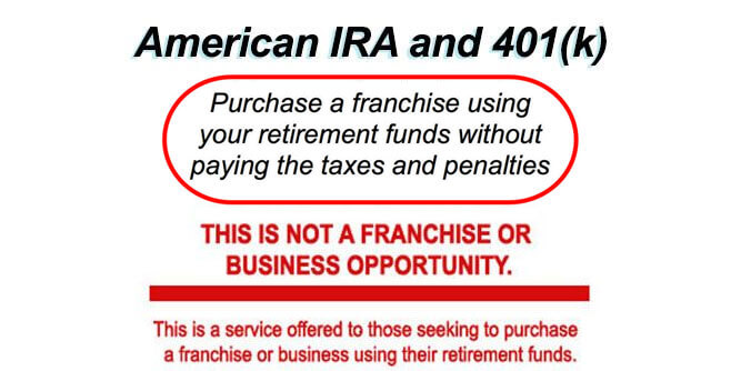 Purchase A Franchise Using Your Retirement Plan
