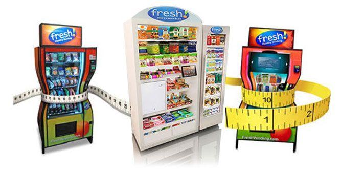 fresh food vending machine franchise