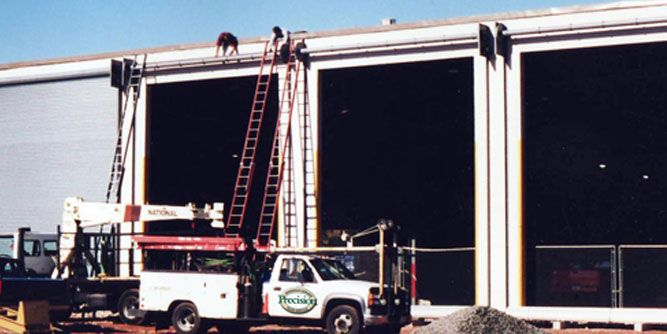 Precision overhead garage door service franchise for Franchise ad garage