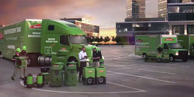 Servpro - Fire & Water - Cleanup & Restoration of TX and LA