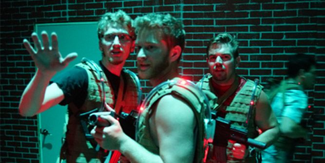 Team Combat - Tactical Laser Tag