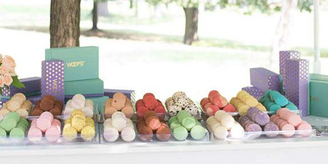 WOOPS! Macaron Boutique Kiosks and Bakeshops