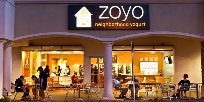 Zoyo Neighborhood Yogurt