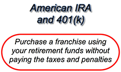 Franchise Funding Using Your Retirement Plan Franchise Opportunity