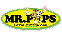 Mr. Pops Gourmet Popcorn & Snacks!