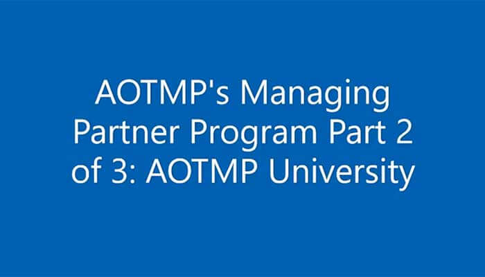 AOTMP Managing Partners Video
