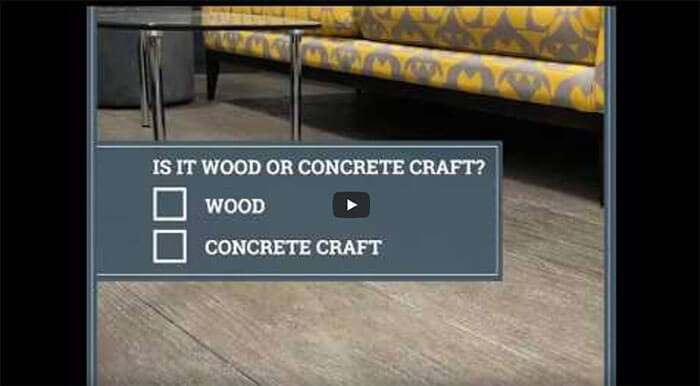 Concrete Craft Video
