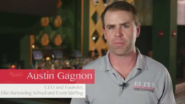 Elite Bartending School & Event Staffing Video
