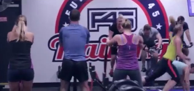 F45 Training Video