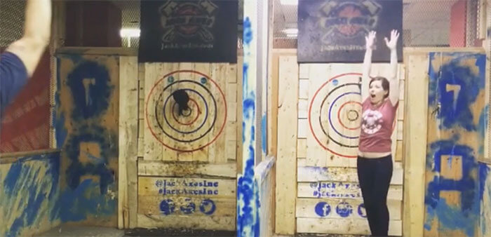 HaliMac Axe Throwing Video