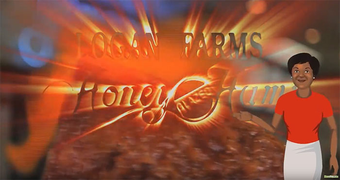 Logan Farms Honey Glazed Hams & Market Cafe Video