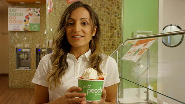 Peachwave Frozen Yogurt & Gelato Video