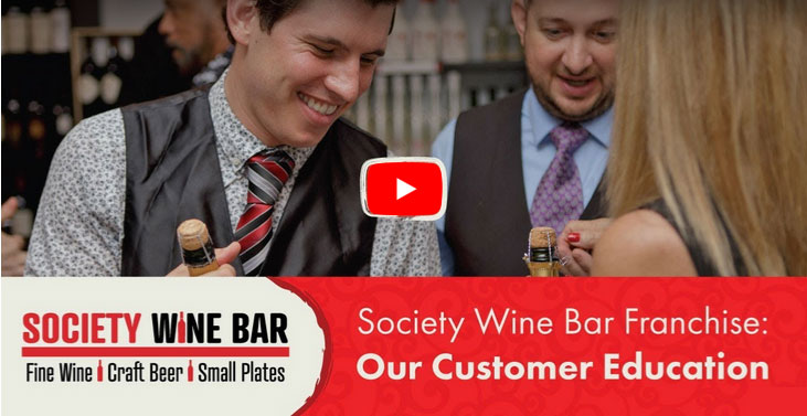 Society Wine Bar Video