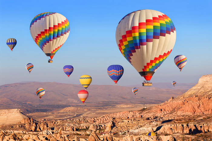 hot air balloon non essential franchise