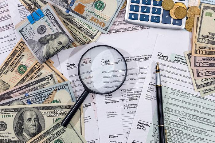 IRS paperwork